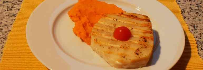 Süßkartoffel Sellerie Püree
