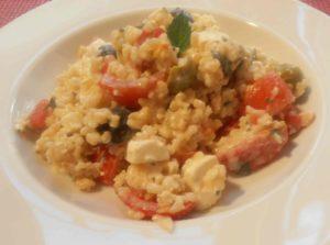 Orientalische Sommerküche : Orientalische gazpacho bananenschneckerl